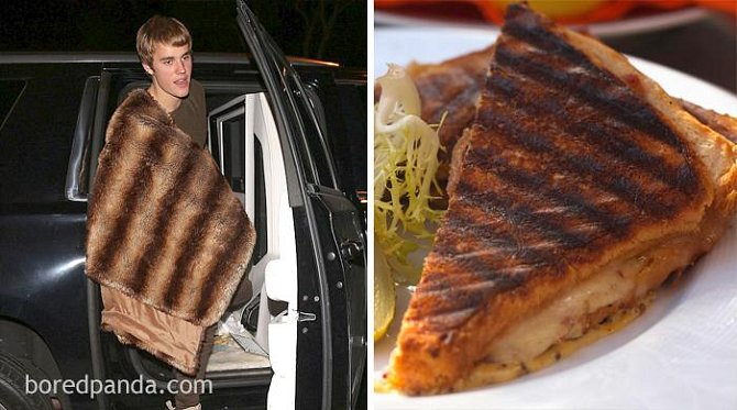 Justin Bieber, nebo toast?