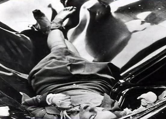 """Evelyn McHale spáchala sebevraždu skokem z 86. patra. Tento snímek nazvali v Times """"nejkrásnější sebevražda""""."""