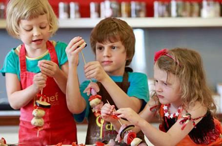 Kurz vaření s dětmi a pro děti!