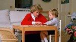 Princezna Diana se synem