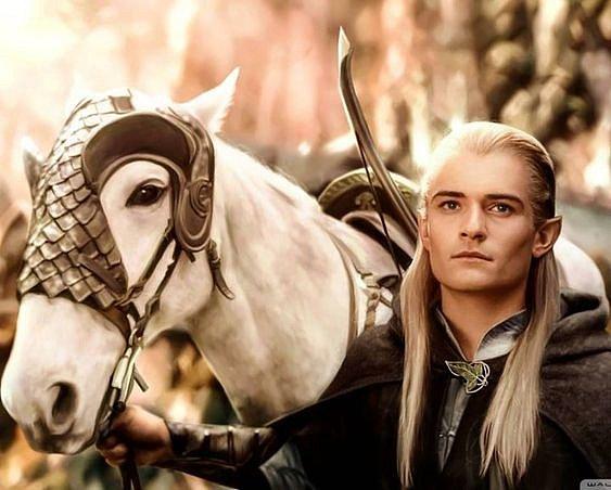 Nejslavnější role Orlanda Blooma - elf Legolas.