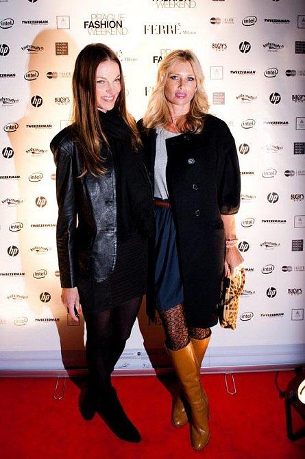 Dvě krásné kolegyně: Pavlína Němcová a Daniela Peštová