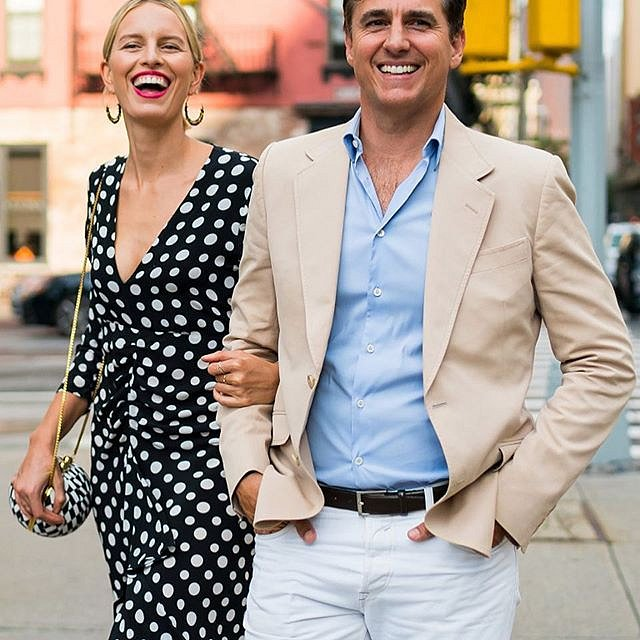 S manželem Archiem Drurym.