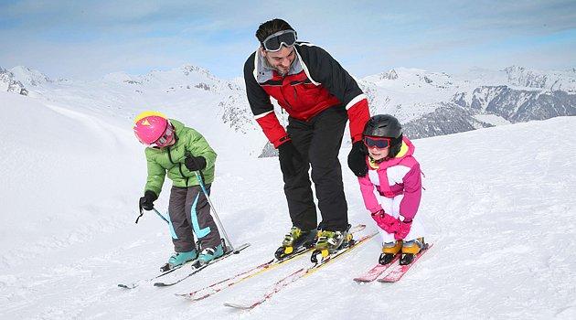 Dětské lyžování