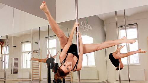 Fitness novinka: Pole dance