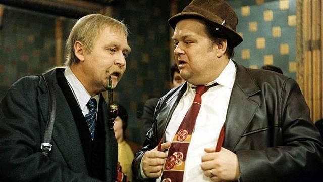 Jan Libíček a Lubomír Lipský ve filmu Tři chlapi na cestách