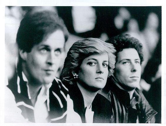 David Waterhous (vlevo) a Diana