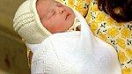 Charlotte asi 11 hodin po porodu.
