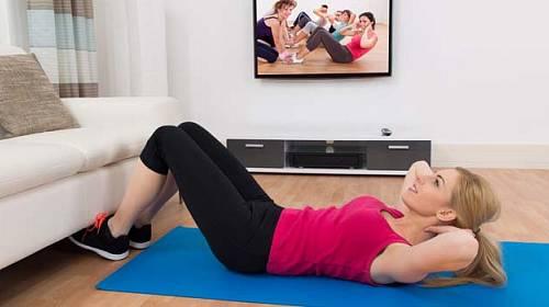 Jak cvičit doma, aby to mělo opravdu smysl