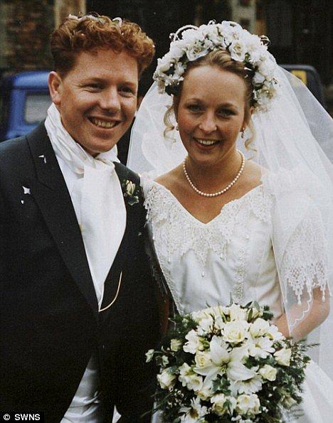 Svatba byl jeden z nejšťastnějších okamžiků v jejich životě.