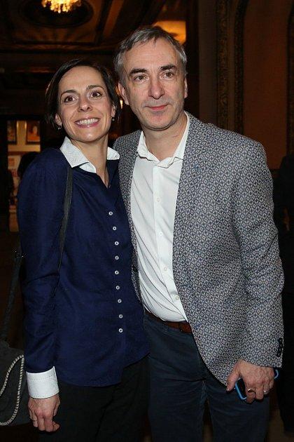 Petr Vacek se ženou Jiřinkou