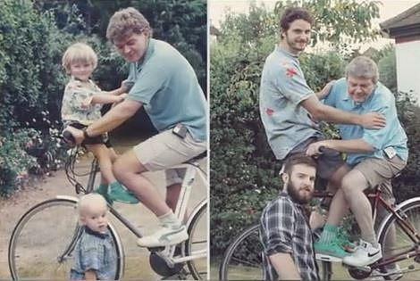 Takové rodinné fotky jsou ještě v pořádku, že?