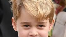 Nyní pětiletý George má již své specifické rysy, mnoho zdědil po otci.