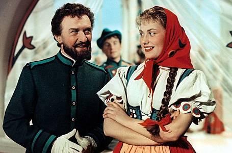 František Filipovský a Eva Klepáčová v pohádce Hrátky s čertem