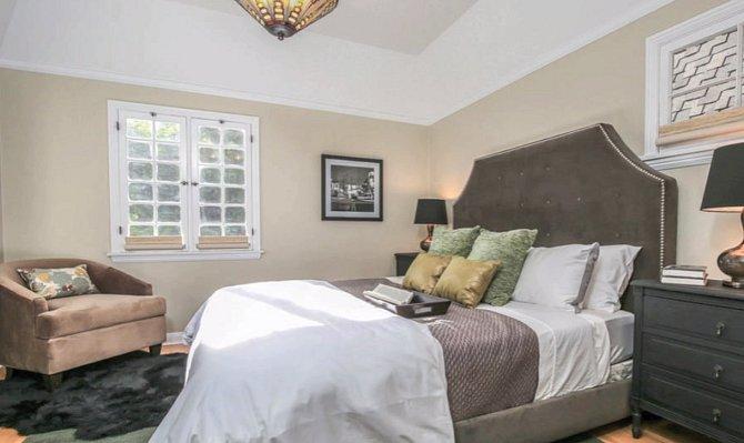 Ložnice pro hosty v druhém patře.