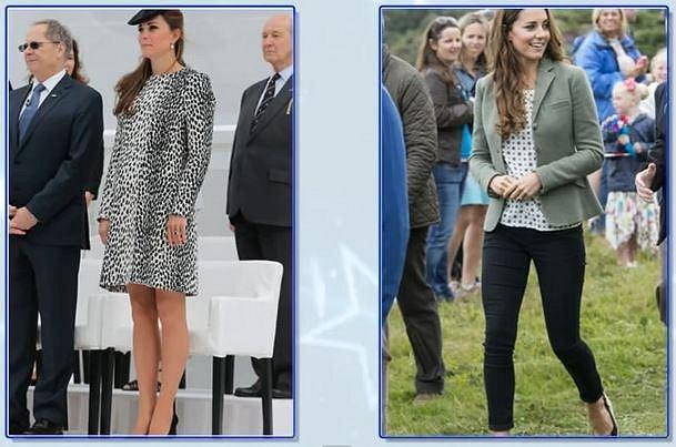 Kate Middleton 1 měsíc po porodu