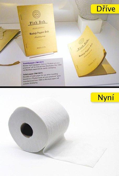 Toaletní papír - coby potřeba na záchod se prodávala braková literatura