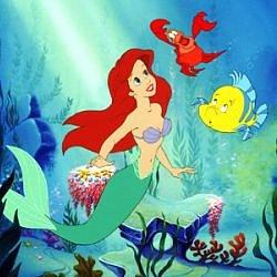 Princezna Ariel, Malá mořská víla