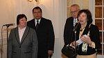 Společný oběd manželů Klausových a Paroubkových - 2. 1. 2006