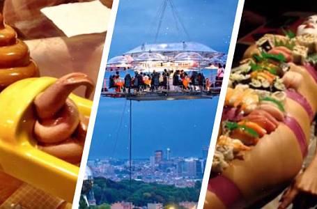 10 restaurací, o kterých neuvěříte, že existují! Chutnalo by vám v nich?