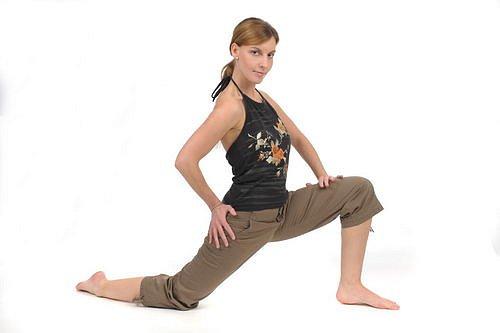 Cvičení, protažení, jóga