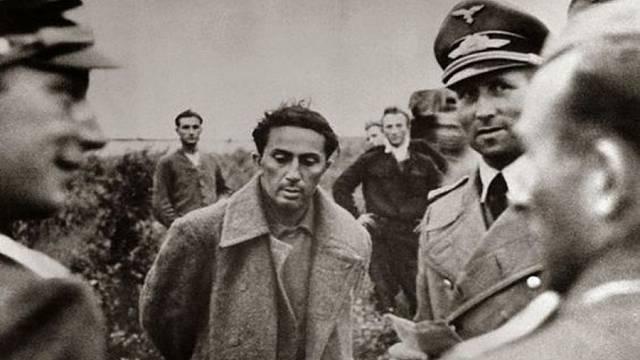 Jakov Džugašvili v německém zajetí