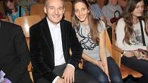 Vladimír Hron se svou současnou manželkou