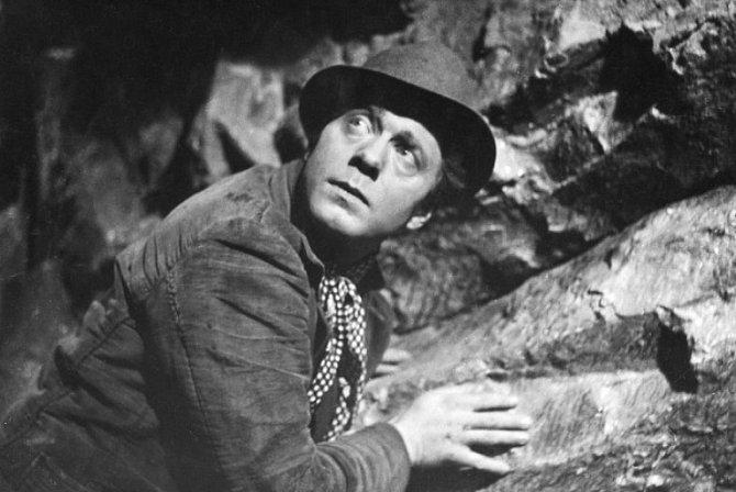Jan Pivec ve filmu Průlom