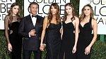 Sylvester Stallone se svou ženou a dcerami