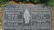 Hrob Sharon Tate