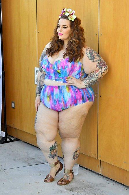 Tyto dámy po těhotenství nehubnou jako zběsilé - Tess Holliday