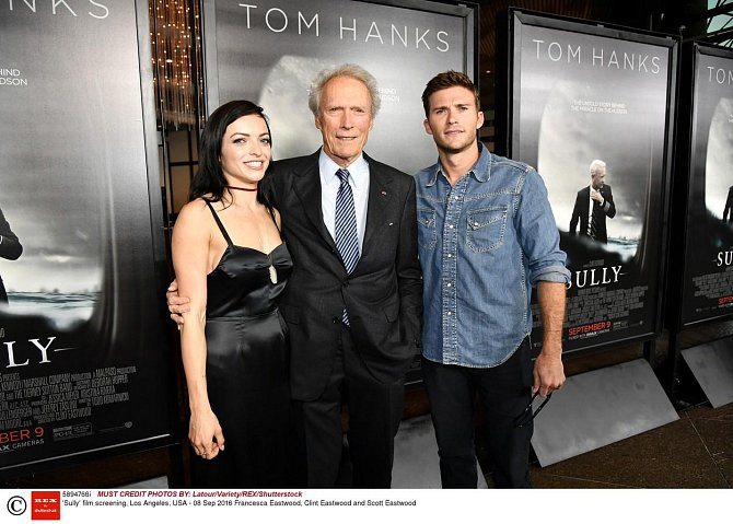 Clint Eastwood, Scott Eastwood a Francesca Eastwood