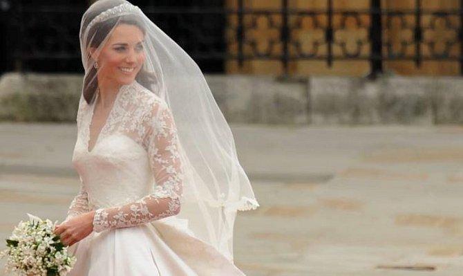 Kate ve svůj svatební den ještě netušila, že se již za pár let stane trojnásobnou matkou.