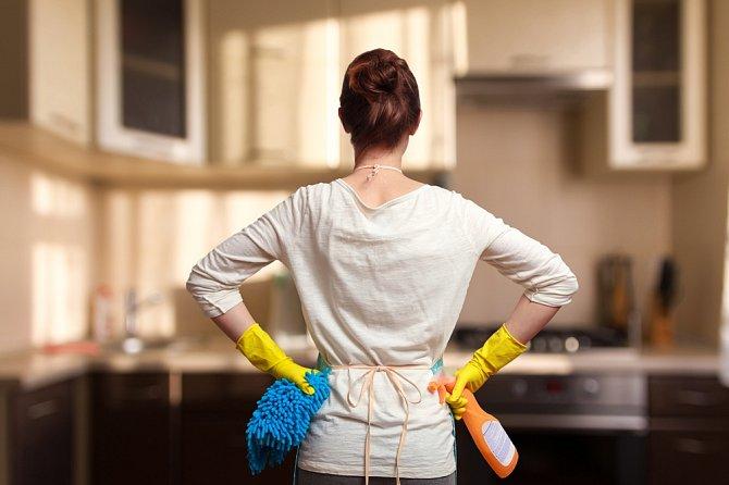 Zvládáte starost o domácnost.