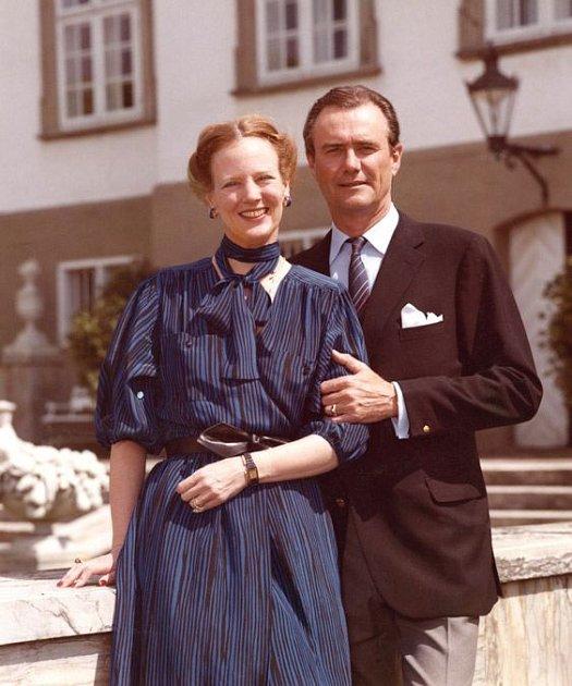 Markéta II. s manželem