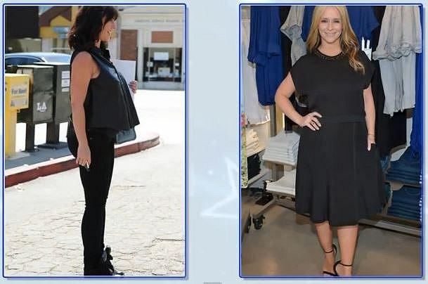 Jennifer Love Hewitt 2 měsíce po porodu