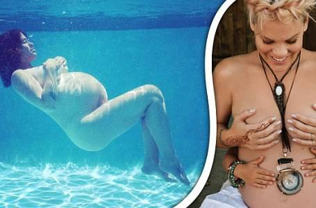 Nejkrásnější fotografie nahých těhotných celebrit: Neuvěříte, kdo všechno se svlékl!