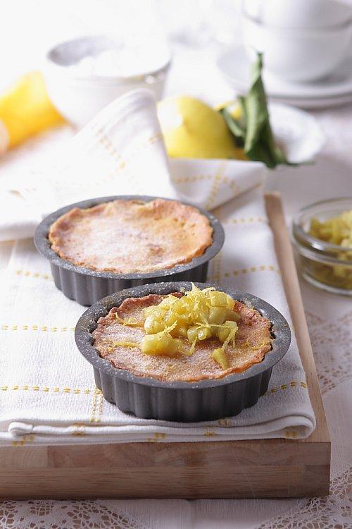 Citronová minižemlovka