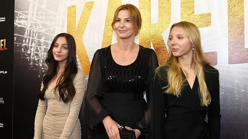 Ivana Gottová ukázala dcery Charlotte a Nelly.