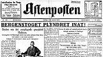 Noviny Aftenposten otiskly nesmělou reklamu na detektivku. Právě tak vznikla tradice velikonočních příběhů.