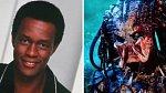 Kevin Peter Hall (1955-1991) - 220 cm vysoký americký herec ztvárnil postavu mimozemšťana ve filmech Predátor (1987) a Predátor 2 (1990). V roce 1991 oznámil, že byl nakažen krevní transfúzí kontaminovanou virem HIV.