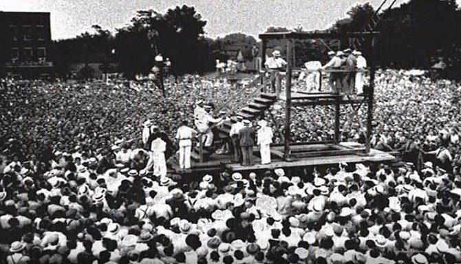 Poslední veřejná poprava, USA, 1936