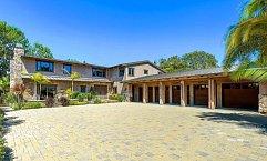 Dům Pink a jejího manžela Careyho Harta se nachází v Malibu, jen kousek od pláže.