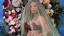 Beyoncé se pochlubila celému světu, že čeká dvojčátka.