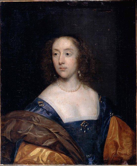 Žilnatý krk a poprsí v Anglii 17. století