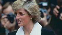 Princezna Diana občas kožešinám neodolala.