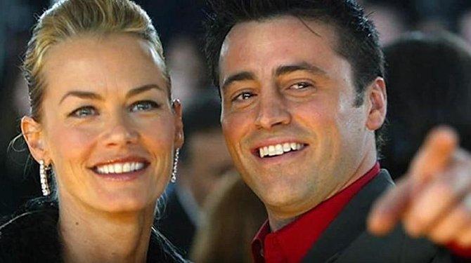 Matt LeBlanc s bývalou manželkou