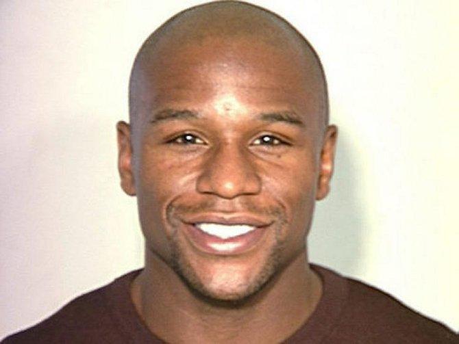 Floyd Mayweather jr. - foto ze zatčení