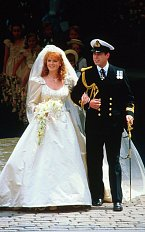 Sarah Ferguson si brala v roce 1986 prince Andrewa, druhého syna královny Alžběty II.