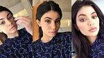 Proměna Kylie Jenner, jedna z mírnějších.